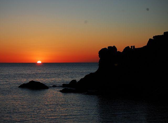 No hay puestas de sol como las de Ibiza #paisaje #puestadesol #ibiza                                                                                                                                                                                 Más