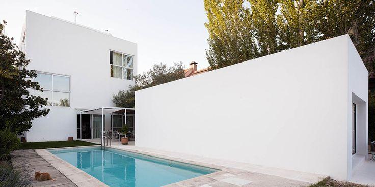 TURÉGANO HOUSE ADDITION  | Estudio Arquitectura Campo Baeza