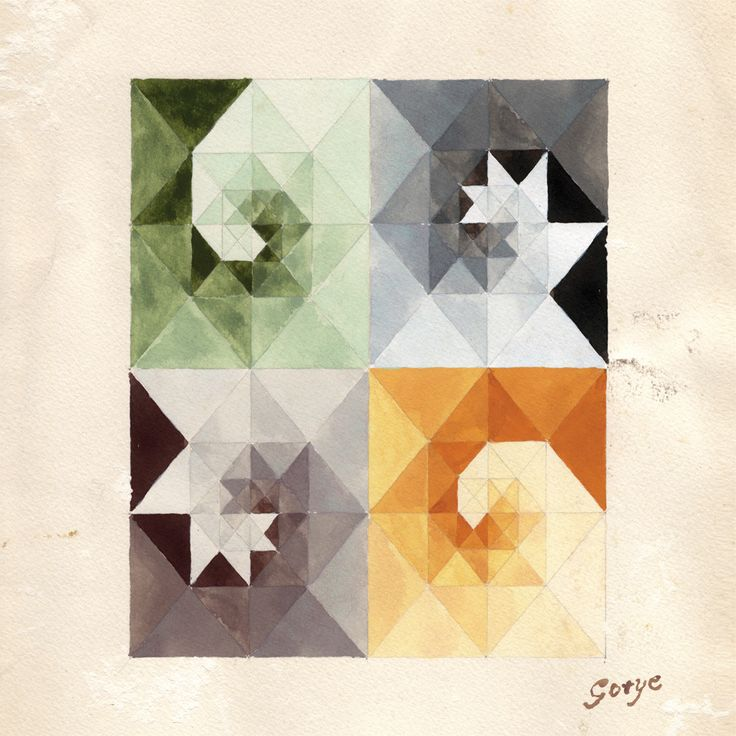 Cover art for Gotye's album Making Mirros (2011).