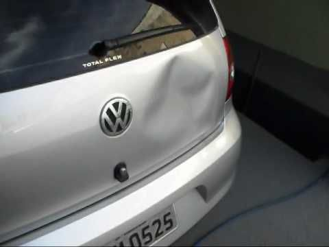 Paintless Dent Repair Using a Heat Gun and a Can of Compressed Gas Duster - YouTube