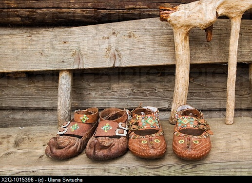 Hutsul slippers (postoly)