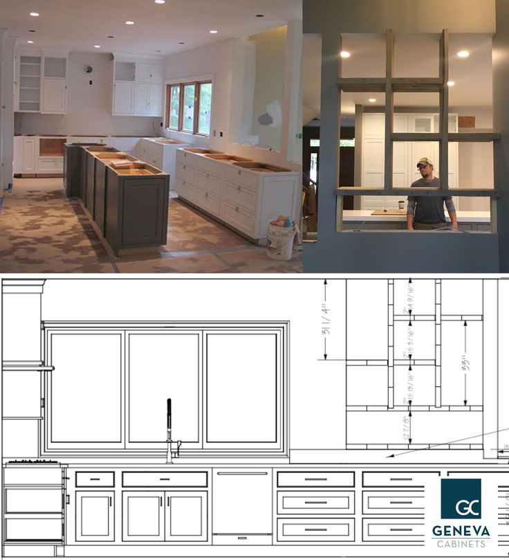 Geneva Cabinet Company Lake Wi Kitchen Remodel Starts With Taking The Walls Down