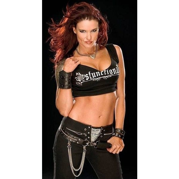 Beautiful Women of Wrestling Lita Will Be in the 2014 WWE Hall of Fame ❤ liked on Polyvore