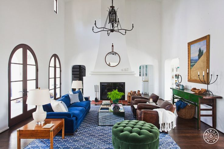 An LA Familyu0027s Spanish Revival