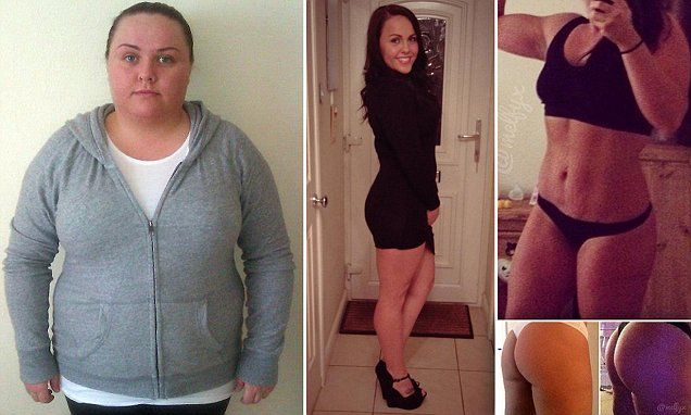 'I transformed my body and lost 5st 7lb by posting 'belfies' online'