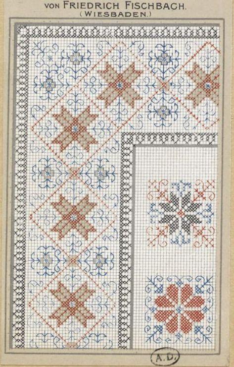 Gallery.ru / Фото #125 - старинные ковры и схемы для вышивки - SvetlanN
