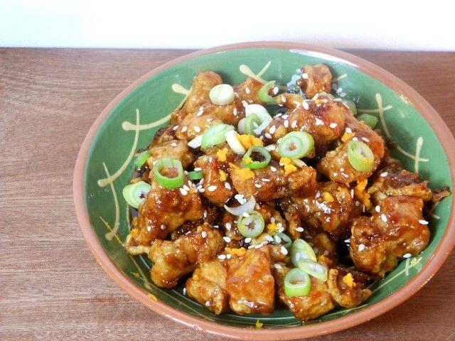 Speciaal voor Chinees Nieuwjaar: Chun Pei Gai Pan (ofwel kip in sinaasappelsaus!)