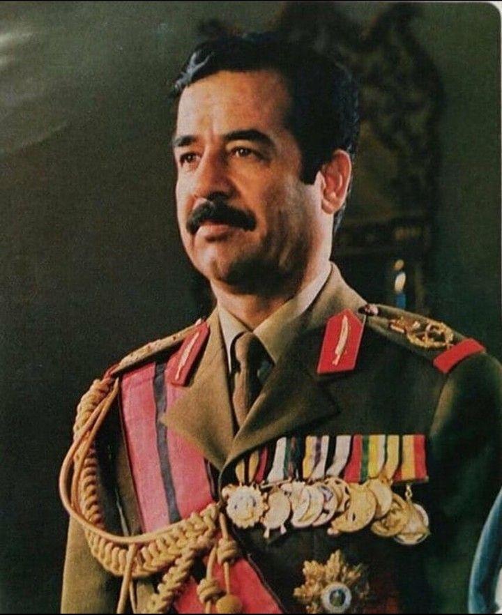 Pin By روائع الصور On صور صدام حسين عالية الوضوح Iraqi President Baghdad Saddam Hussein Quotes