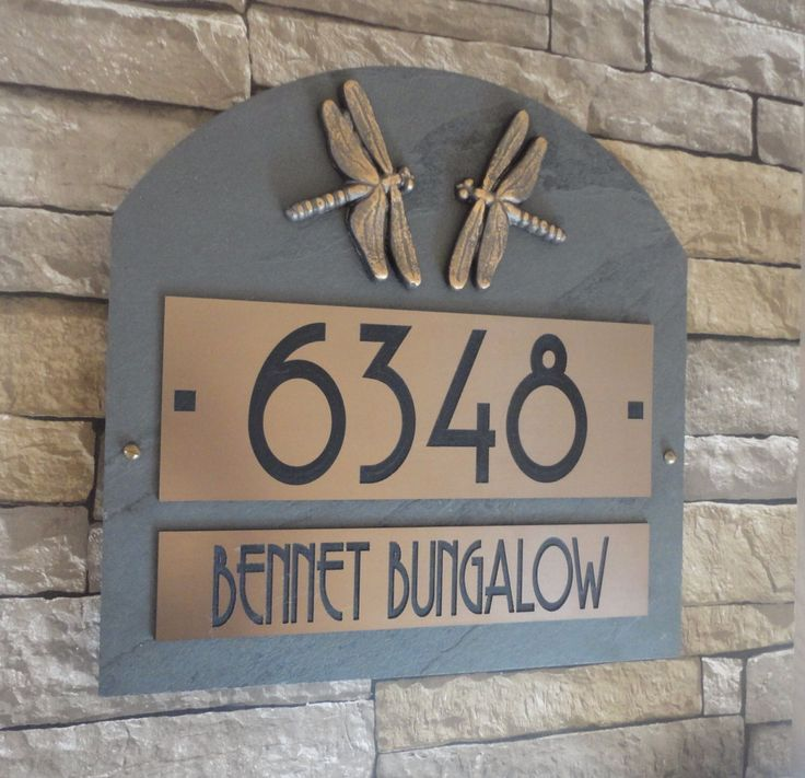 25 best ideas about craftsman house numbers on pinterest for Location plaque garage