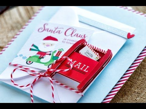 Simon Says Stamp | December Card Kit – Hidden Gift Card Pocket Card. Video | | Yana Smakula
