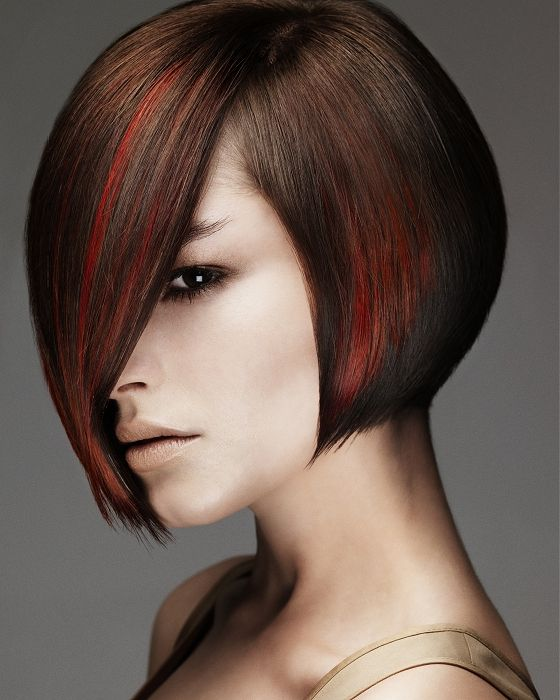 bob hairstyles 2012 for black women   Layered invert bob hair style for women, this is a good hair for thick ...