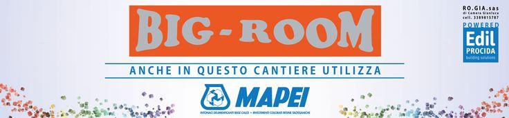 Striscione - Big Room/Mapei