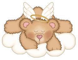 TEDDY BEAR ANGEL CLIP ART