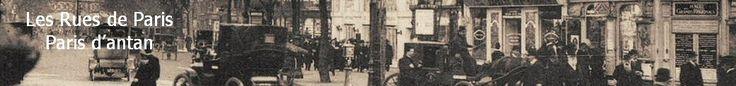 Les anciennes rues de Paris | rue de la Montagne-Sainte-Geneviève | 5ème arrondissement