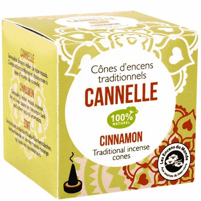 Cannelle - Sinnlichkeit Räucherkegel Indien - Indische Räucherkegel - Cleopatra's Duft-Oase