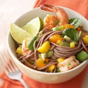 Ginger Shrimp and Vermicelli Salad