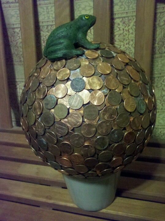 My frog penny bowling ball