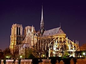 Cathedral of Notre Dame. One of the most stunning pieces of architectre filled with incredible meaning. Just think of our Lady.