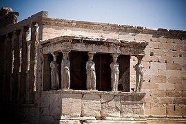 Cariátides, Grecia, Acrópolis, Atenas