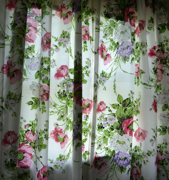 19 Best Images About Vintage Curtains On Pinterest