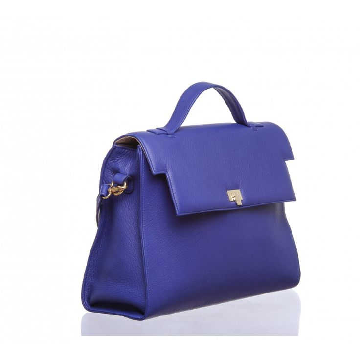 Facuta dintr-o piele texturata moale, de cea mai buna calitate, aceasta geanta eleganta este accesoriul perfect pentru activitatea ta de zi cu zi.  Prevazuta cu multiple buzunare interne pentru o organizare usoara si o curea de umar detasabila.  100% piele naturala de bovina Dimeniuni: 33 x 27
