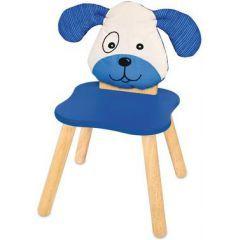Ben Toy, sandalyesi köpek, çocuk mobilya, ahşap sandalye abgerundetet köşeleri, koltuk yüksekliği 27cm'M