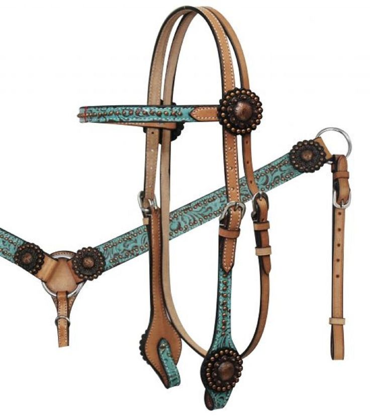 293 best cowgirl up images on pinterest horse horses and saddles western teal filigree leather bridle breast collar reins set new horse tack fandeluxe Gallery