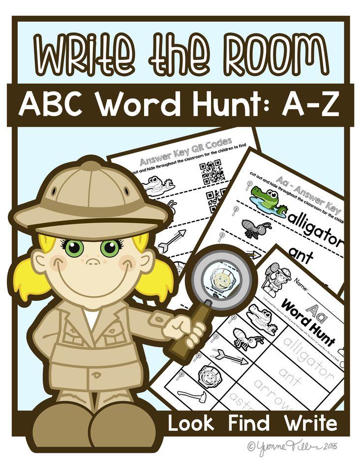 Write the Room | Word Hunt