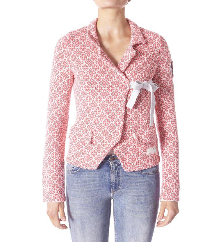 Odd Molly lovely knit jacket coral pink