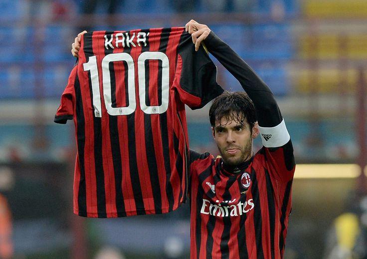 Congratulations to Kaká - 100 Goals for AC Milan!