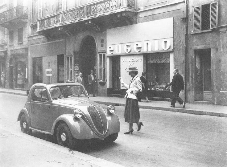 via Montenapoleone anni '50