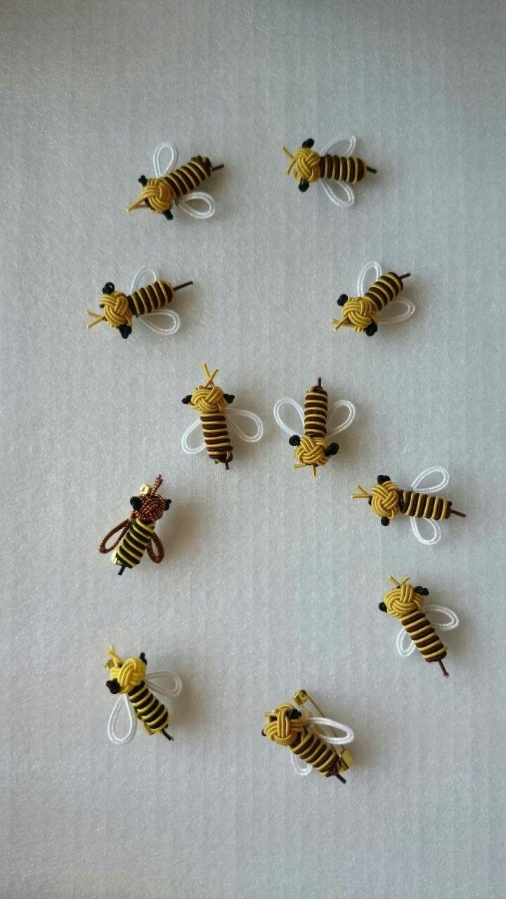 水引 ミツバチ