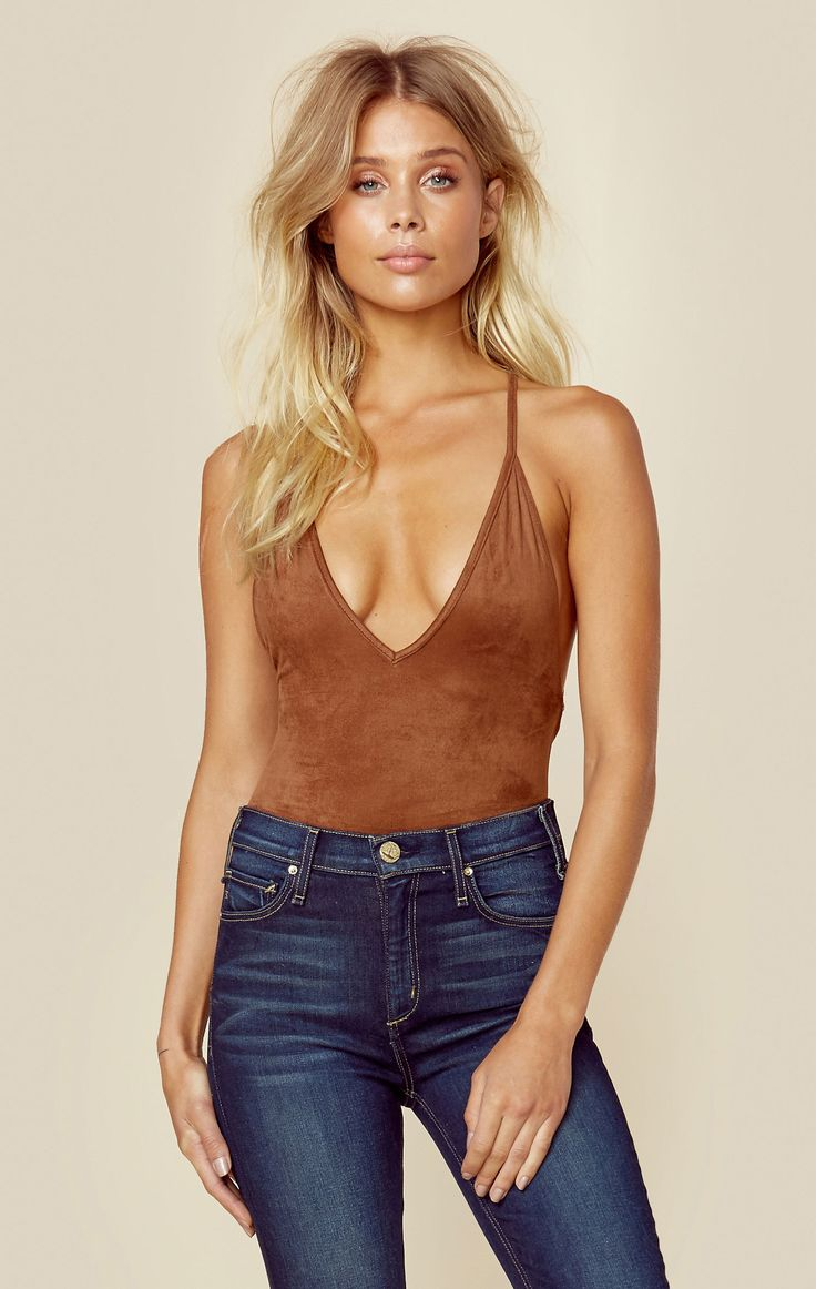 SUEDE BOOGIE NIGHTS BODY SUIT