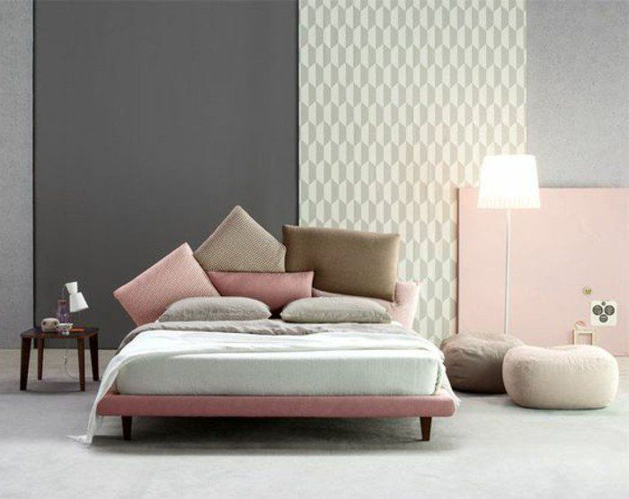 les 25 meilleures id es de la cat gorie murs gris p le sur. Black Bedroom Furniture Sets. Home Design Ideas