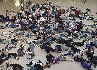 One thing that is on my bucket list is to do a flash mob! Odd I know lol