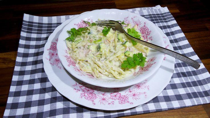 bonapp: Все в одной кастрюле. Паста с ветчиной и сыром. One Pot Pasta