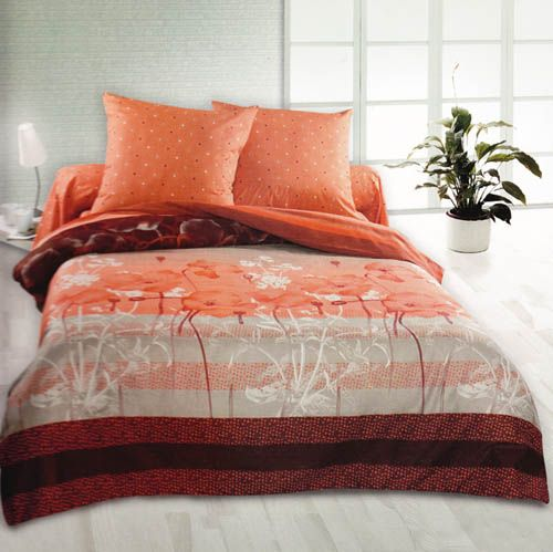 Red Bedroom Designs: Yellow, Orange, Red And Pink Bedding Sets, Color Symbolism