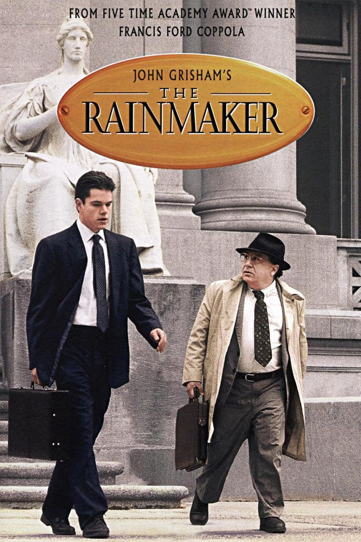 The Rainmaker (1997) - Matt Damon, Danny DeVito, Claire Daines, John Voight.