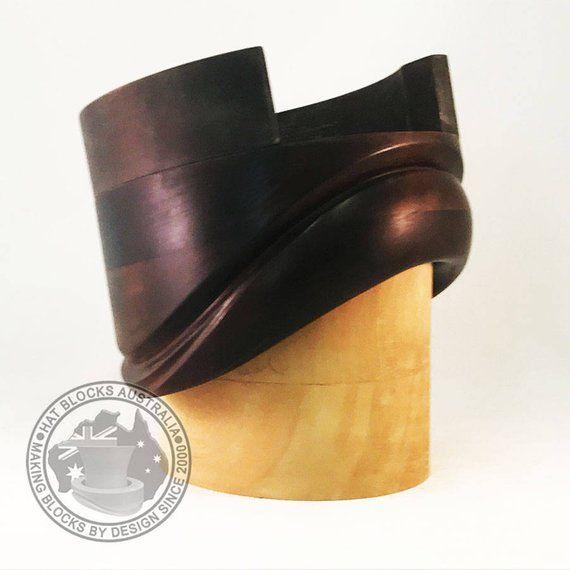 Empire Cloche Brim Hand Made Vintage Reproduction Hat Block By Hat Blocks Australia Millinery Hat Making Hat Mould In 2020 Hat Blocks Brim Aldo Gucci