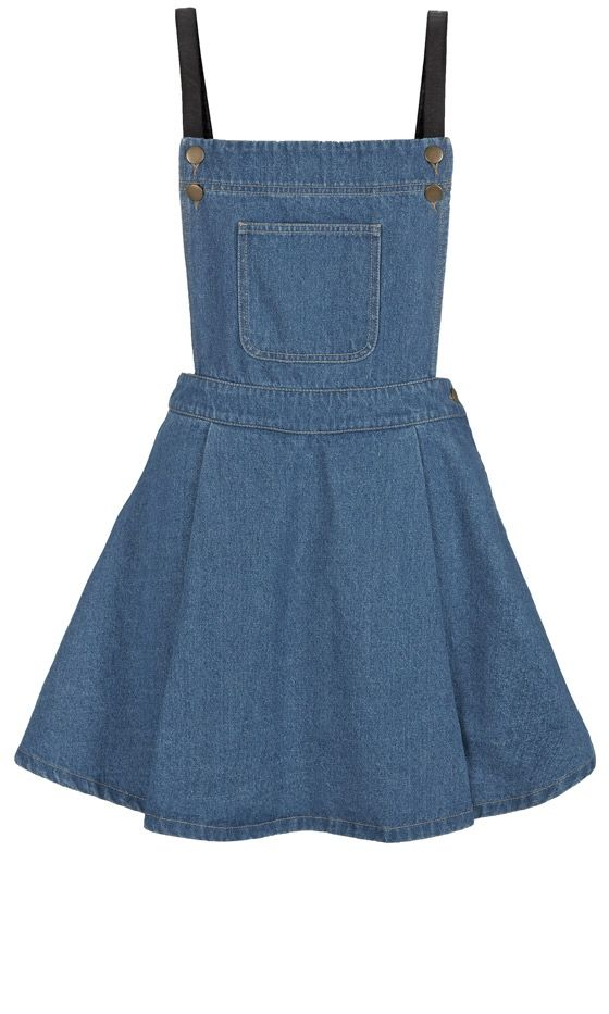 Primark AW13 Collection: Denim Dungaree Dress