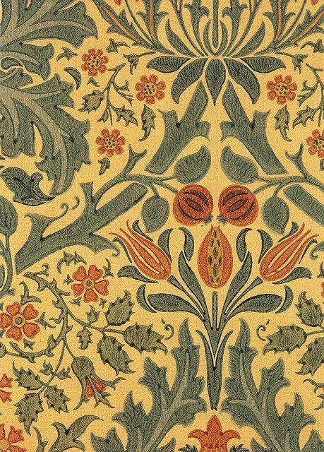 William Morris Wallpaper Morris Design And The