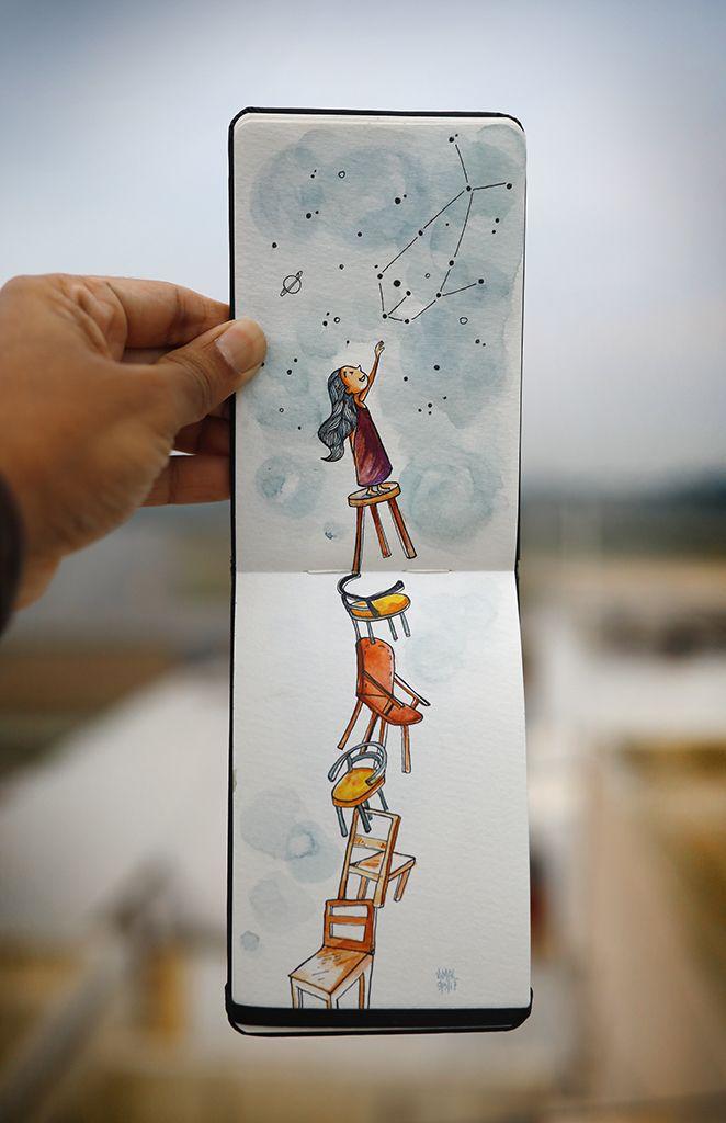 vimal chandran sketchbook