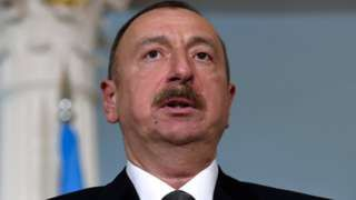 Image copyright                  AP                  Image caption                                      President Ilham Aliyev already has huge powers vis-a-vis state institutions                                Azerbaijanis are voting on whether to boost the powers of President Ilham Aliyev, who has ruled since 2003 and cracked down on dissent.   The plan includ