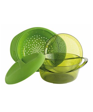 Take a look at this Green Silicone Multi-Level Steamer by Mastrad on #zulily today!