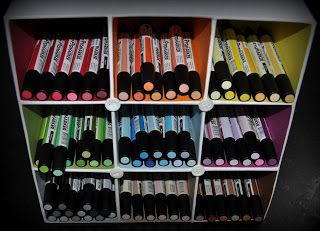 lillefashion.by.lise: Promarkers storage DIY (do it yourself) / Promarkers storage DIY
