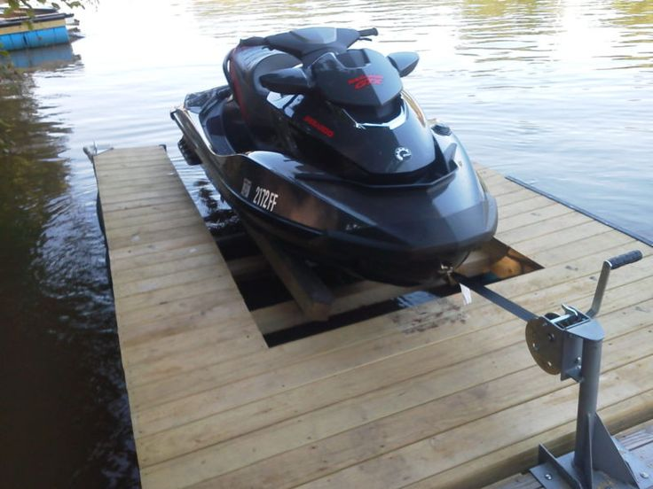DIY Double PWC Dock KIT (Floating) Boat Dock with Swim Platform