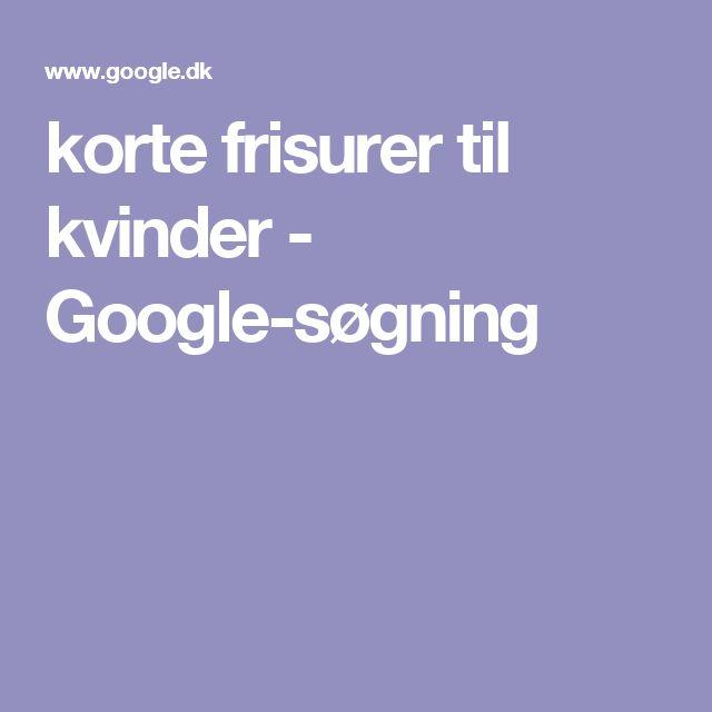 korte frisurer til kvinder - Google-søgning