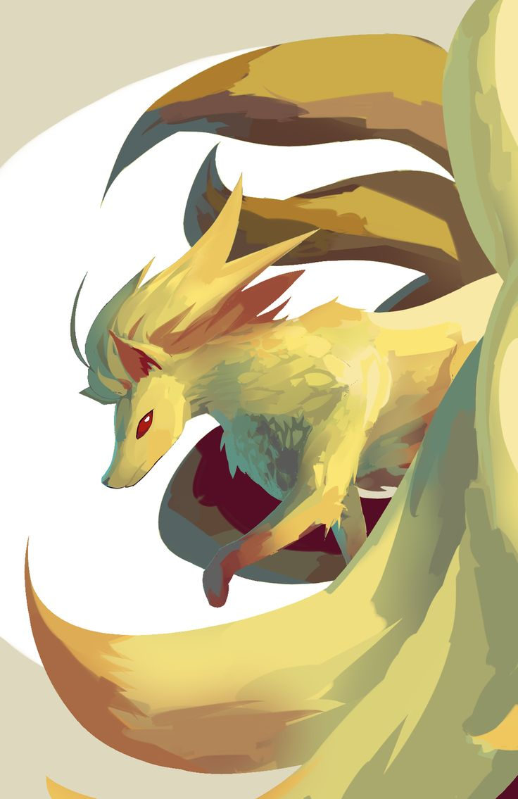 Pokemon - Ninetales by Daboya.deviantart.com on @deviantART