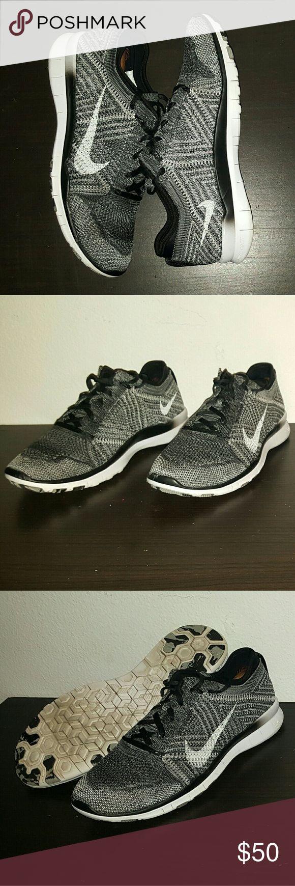 Women's Nike Free Trainer Flyknit Women's Nike Free Trainer Flyknit size 8 good condition Nike Shoes Athletic Shoes