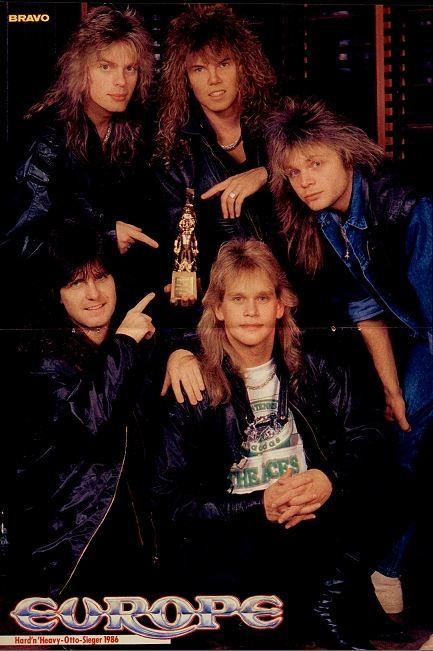 Goldene Otto-Sieger 1986: Europe | Idole der Jugendzeit ...